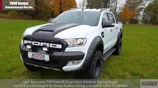 Hurter Offroad - Umbau Ford Ranger für die Schwabengarage Neu Ulm