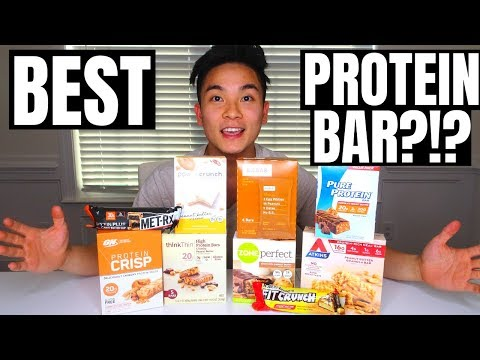 HEALTHY FOOD (SNACK) REVIEW | Ep. Best Peanut Butter Protein Bar