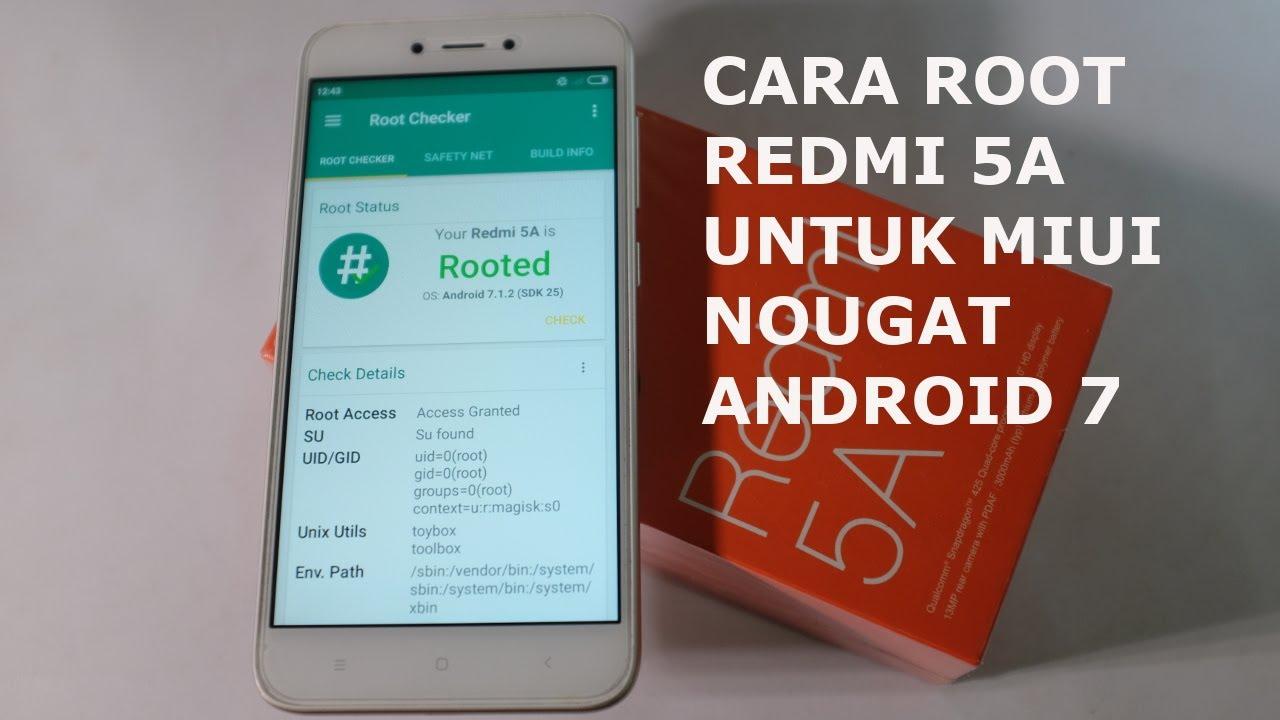 Cara Install TWRP dan Root Xiaomi Redmi 5A
