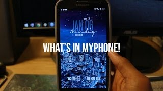 What's in my Phone! (Samsung Galaxy Note II)