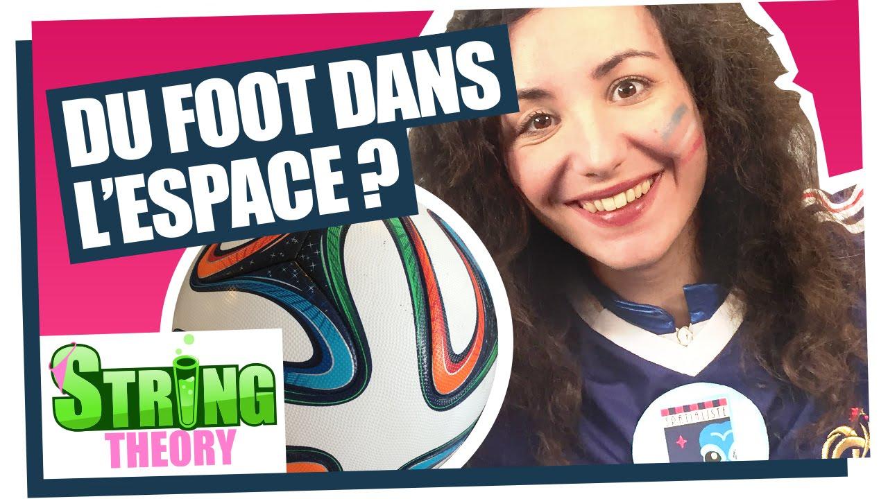Florence Porcel nous parle espace et ballon de foot ...
