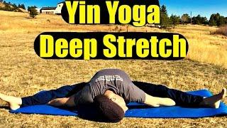 30 Min Yin Yoga Class: DEEP Hip Stretches for Flexibility - Best Stretches for Flexibility #yinyoga