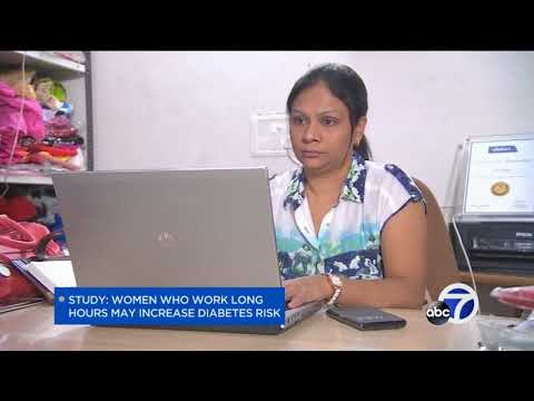 Study: Women who work long hours may increase diabetes risk