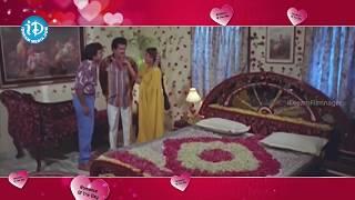 Repeat youtube video Rajendra Prasad, Ravali first night scene @Romance of the Day