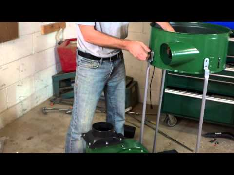 Harbor Freight 2HP Dust Collector- The asse