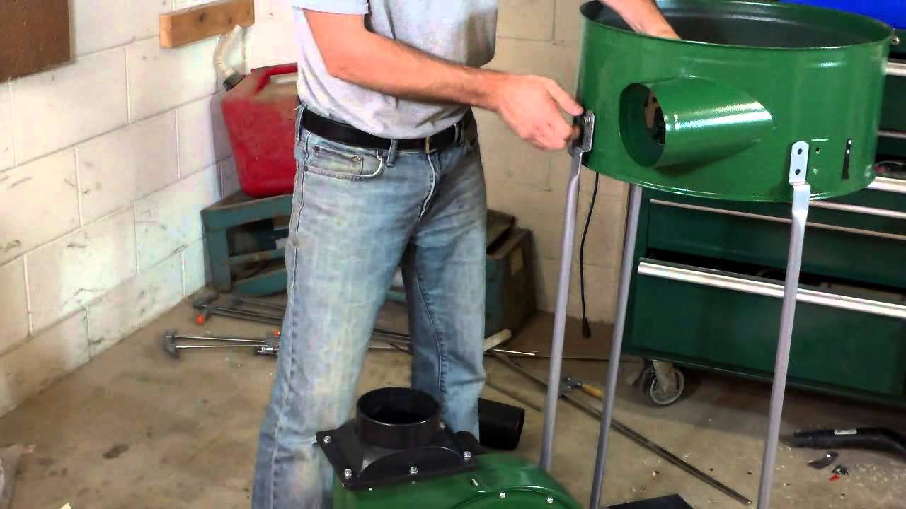 Harbor Freight 2hp Dust Collector The Asse Youtube