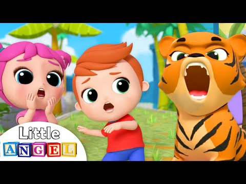 Let's Go To The Zoo | Little Angel Nursery Rhymes and Kids Songs