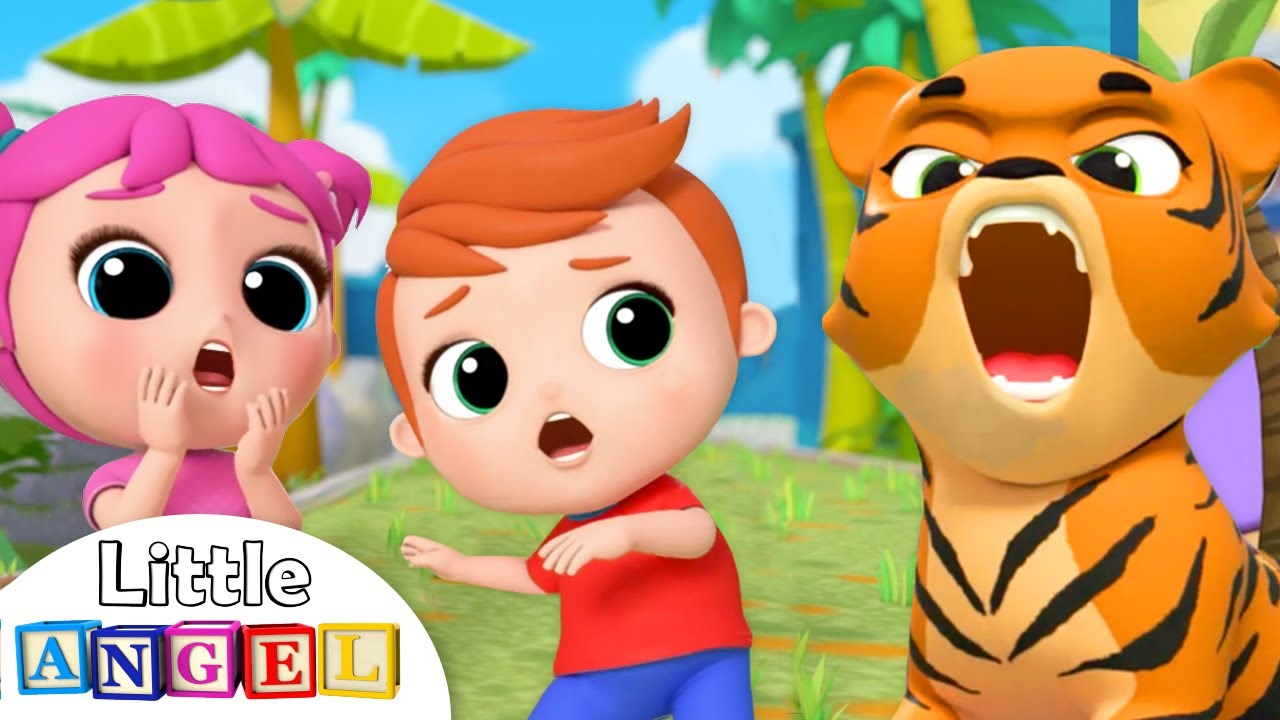 Baby Goes to the Zoo | Little Angel Nursery Rhymes and Kids Songs