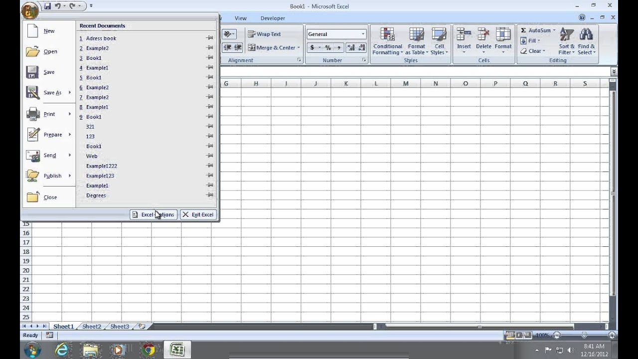 How to Make a Report from Excel Sheets With VBA