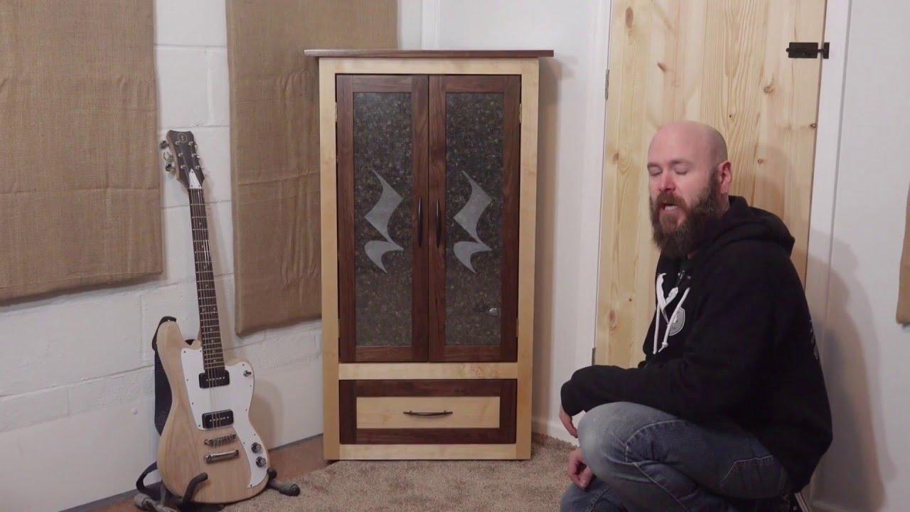 Laser Tutorial Corner Cabinet W Etched Glass Doors Make