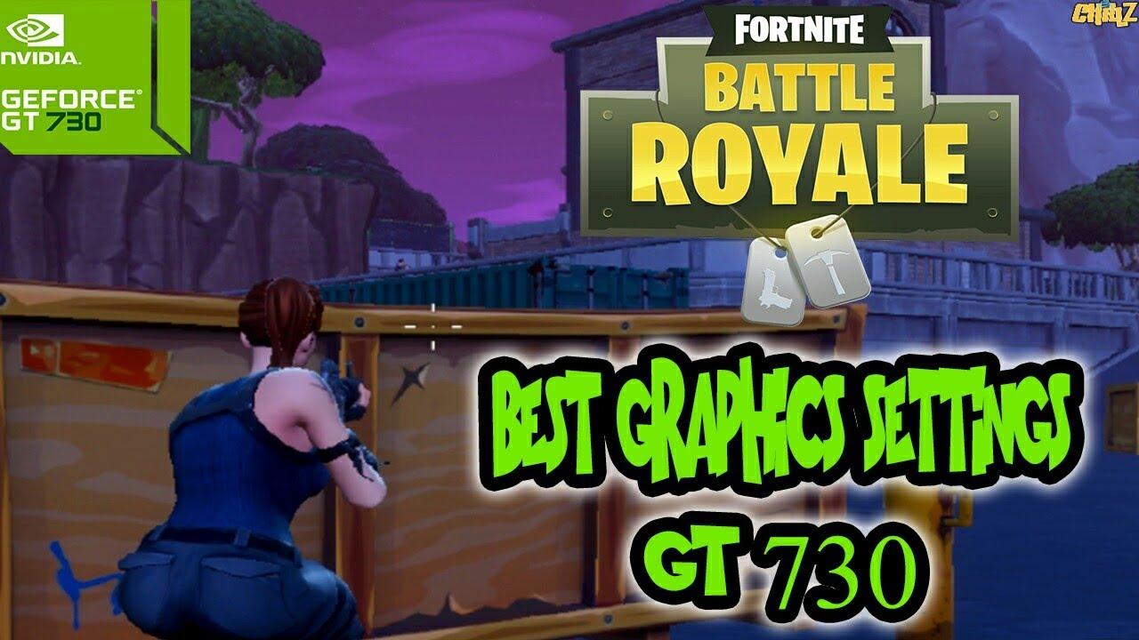 Fortnite: Battle Royale Benchmark On GT 730 | Nvidia