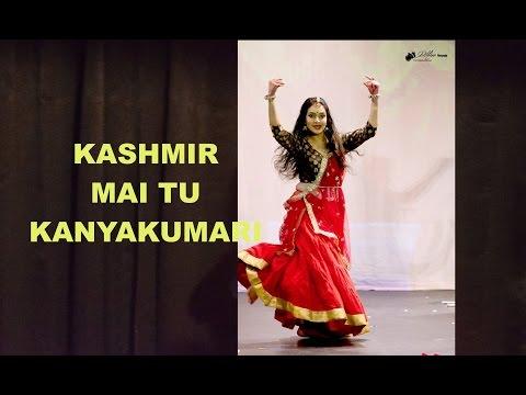 Kashmir Main Tu Kanyakumari Dance