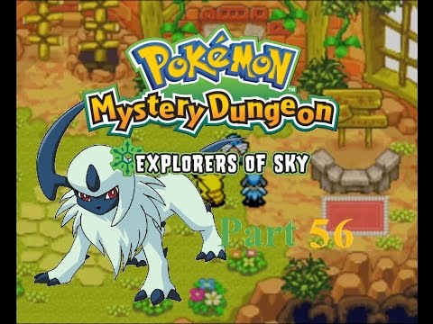 Pokemon Mystery Dungeon Explorers of Sky part 56: Escort Jobs are the WORST!!!