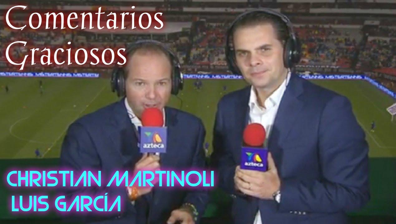 Los Comentarios Más Graciosos de Martinoli y Luis García