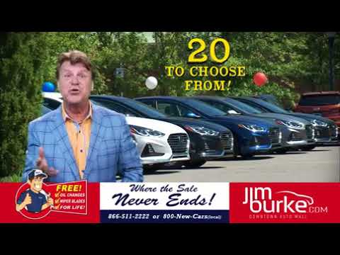 Jim Burke Hyundai 2018 Sonata 0% APR For 60 mos w Zack Justice 101717