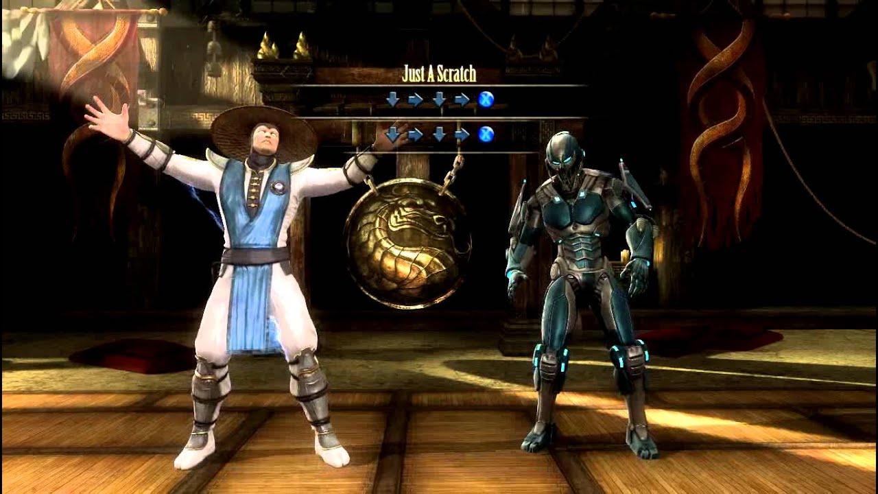 Mortal kombat 9 cyber raiden