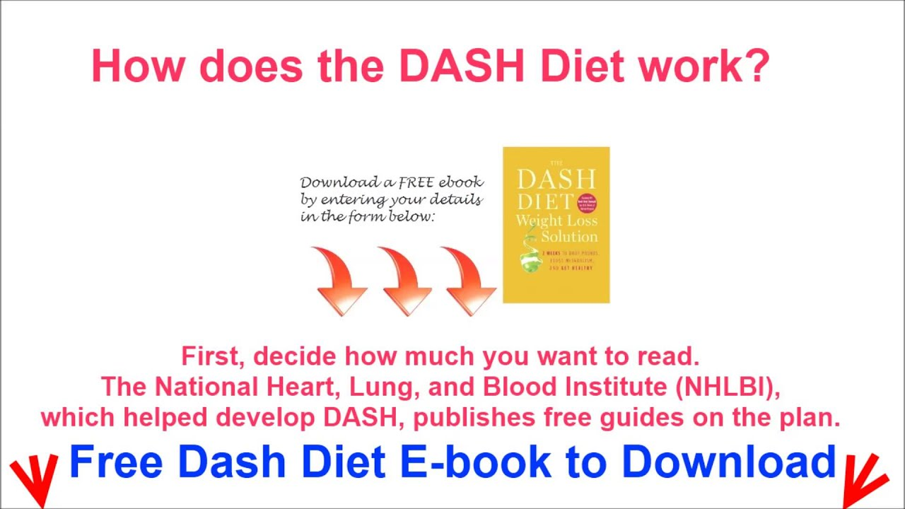 How does the DASH Diet work? free PDF to download - YouTube