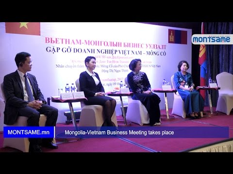 Mongolia Vietnam Business Meeting takes place