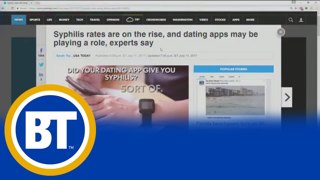 Dating-Website für stds