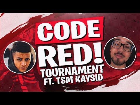 TSM POPS OFF! $20,000 CODE RED TOURNAMENT Ft TSM Kaysid Fortnite BR Full Match