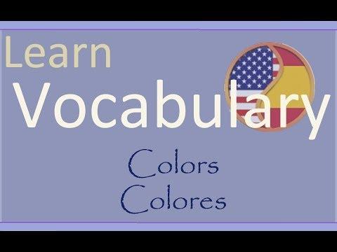 learn-spanish-aprende-inglés:-colors---colores
