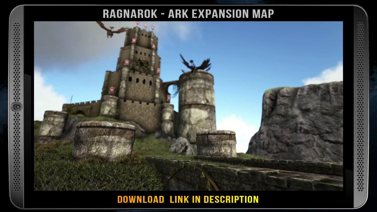 RAGNAROK U2013 ARK EXPANSION MAP   Free DLC Download (ARK: Ragnarok By Studio  Wildcard 2017)