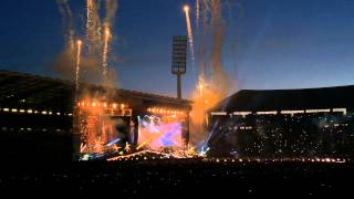 One Direction Best Song Ever + Fireworks│OTRA Brussels 13.6.15