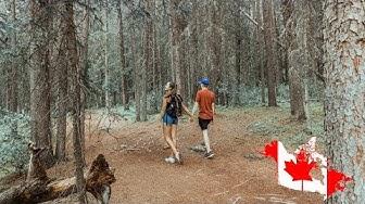 Kanada ist ein WANDERPARADIES! ∙ Canadian Rockies ∙ Kanada Roadtrip ∙ Weltreise Vlog #81