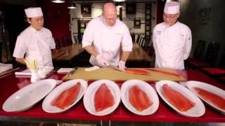 Wegmans Wild Salmon Oshi-Zushi