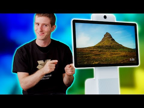 Facebook's FIRST Hardware Product?! - Portal Showcase