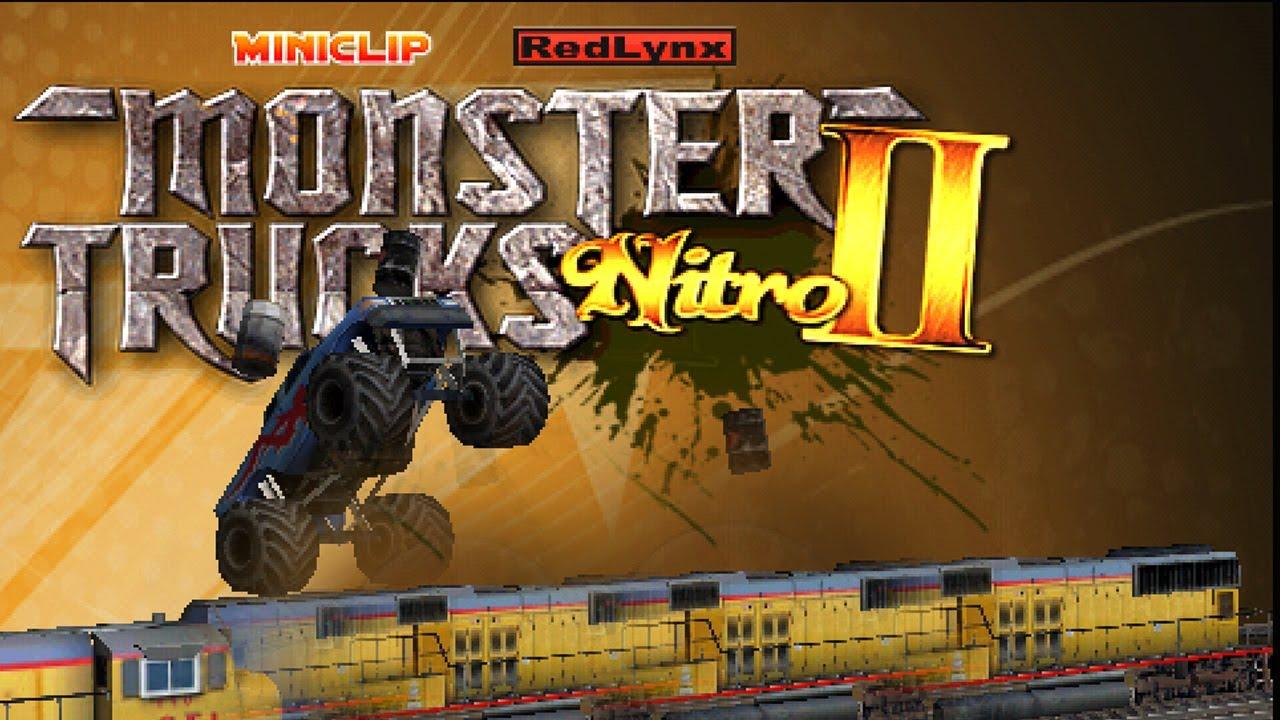 Monster Trucks Nitro 2 Iphone Gameplay Video Youtube