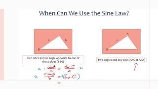 MCR3U/Grade 11 Functions: 5.6 The Sine Law