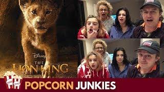 Disney's The Lion King Official Teaser Trailer #1 - Nadia Sawalha & Family Reaction