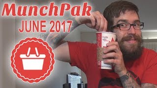 COFFEE DIP TEST - MunchPak Unboxing w/ DanQ8000 - June 2017