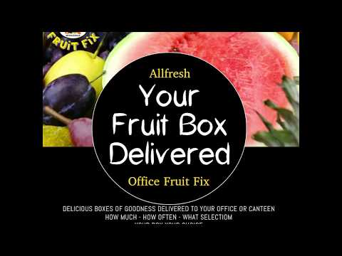 Allfesh Office Fruit Fix, Health Delivered