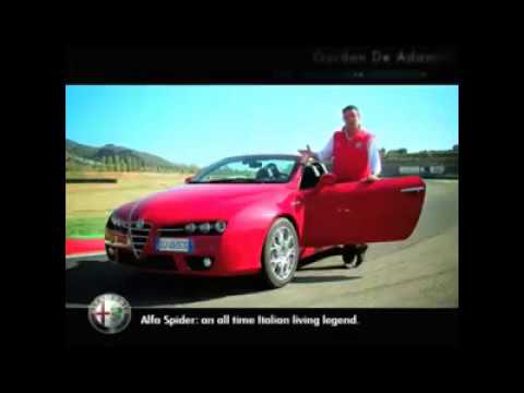 Alfa Romeo Spider JTDm cc 2400 cv 210. Un giro su strada con Gordon De Adamich