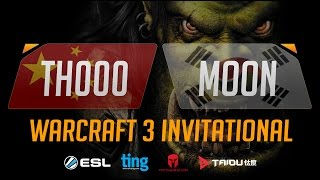 WC3 - TH000 vs. Moon - Ting Warcraft Invitational - Group B - Upper Bracket Semifinal(Introducing the Warcraft Ting Invitational. Ting, Matcherino and ToD have partnered up to bring you a Warcraft 3 tournament of the ages starring many of ..., 2016-10-05T10:11:15.000Z)