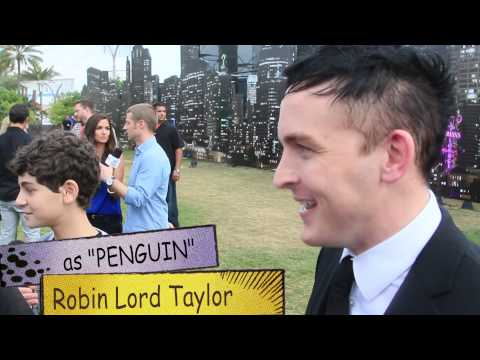 GOTHAM TV : Penguin / Robin Lord Taylor talks about his role at SDCC