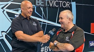 Phil Taylor reckons 'I'm a Celebrity' would be good for him . Talks Bristow & Mentoring young talent