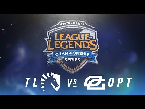 TL vs. OPT - Week 9 Day 2 | NA LCS Spring Split | Team Liquid vs. OpTic Gaming (2018)