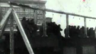 Repeat youtube video LiveLeak.com - Public execution of SS officiers in Leningrad.flv