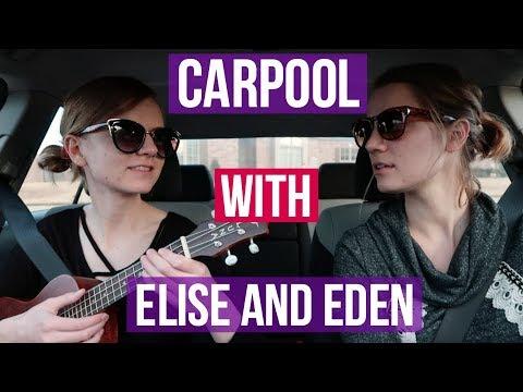 CARPOOL UKULELE COVERS WITH ELISE & EDEN