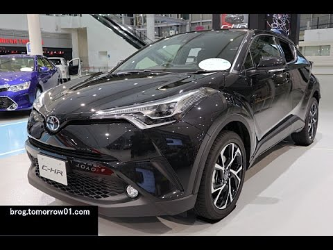 Toyota C-HR G-T : Black