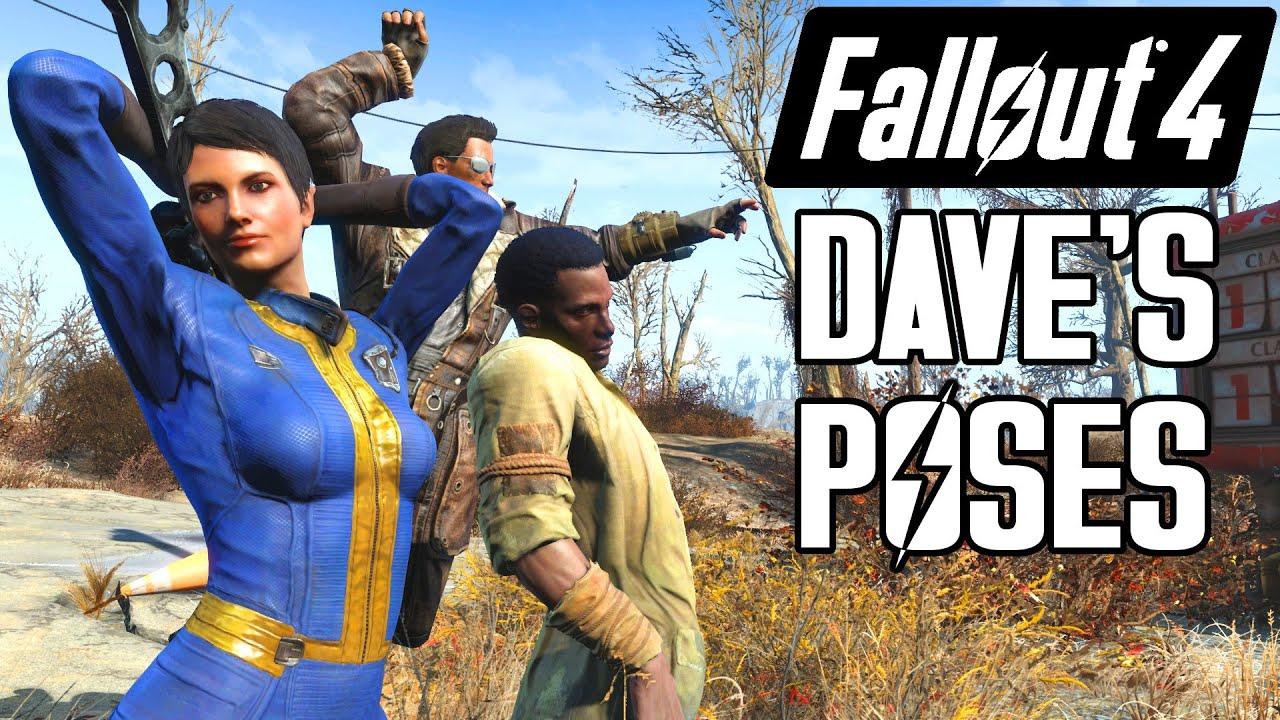 Fallout 4 - Dave's Poses Showcase and Tutorial - ( ͡° ͜ʖ ͡°) - Animation  Mod - X1 PC