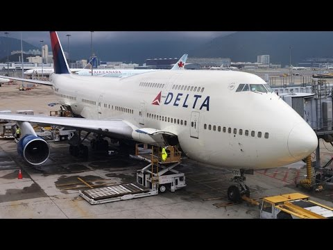 Full Flight - (DL245) Delta B747-451 - Rome (FCO) to New York (JFK)