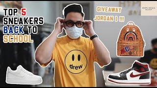 Trải nghiệm shopping tại Hypeholic | Top 5 sneakers back to school + Giveaway Jordan 1