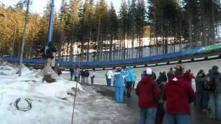 Vancouver 2010 Olympics-Bobsleigh.wmv(Several short video clips of various teams racing in the two man Bobsleigh event at the Vancouver 2010 Olympic Winter Games. This took place at the Whistler ..., 2010-07-22T18:36:09.000Z)