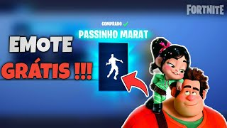 HOW TO UNLOCK FREE THE EMOTE OF DETONA RALPH!!! (FORTNITE BATTLE ROYALE)