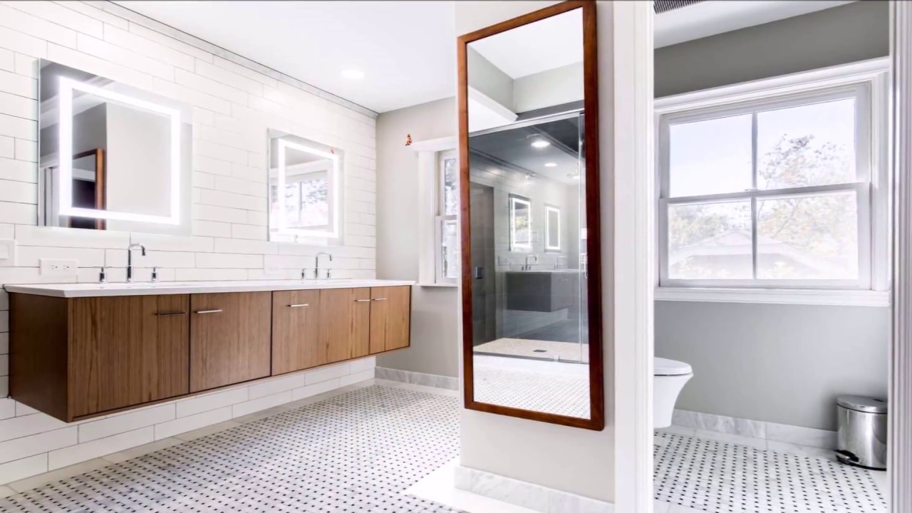 Dallas Bathroom Remodel with New Shower Spa System - YouTube