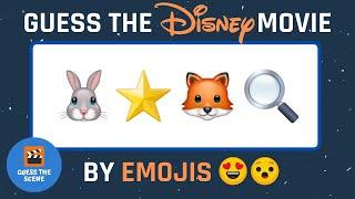 Guess The Disney Movie By Emojis   Disney Quiz    Emoji challenge   Guess the Movie Emoji Disney